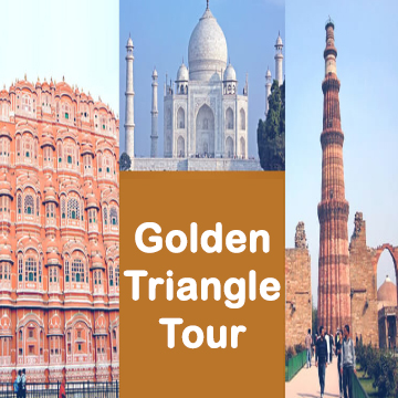 Golden Triangle Tour 5 Night 6 Days